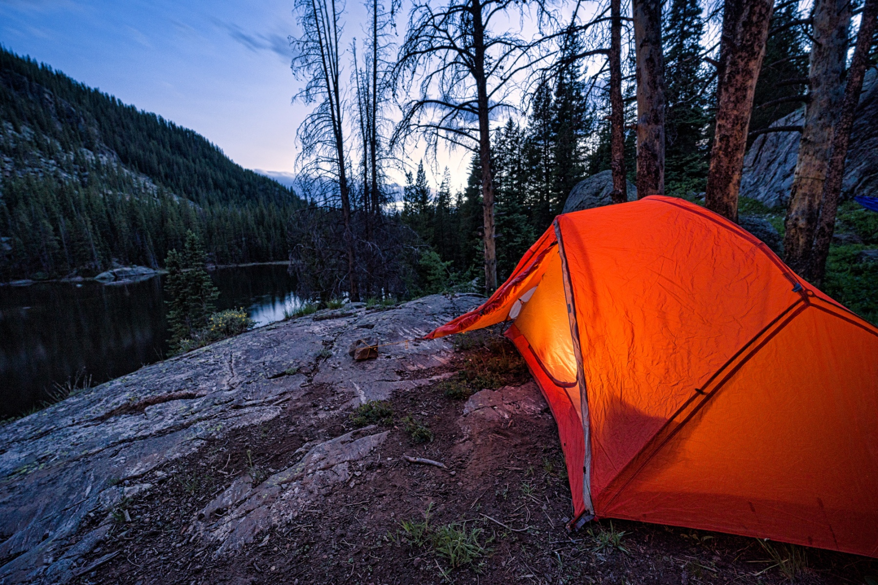 Tent Camping Backpacking Hiking Trip Camp