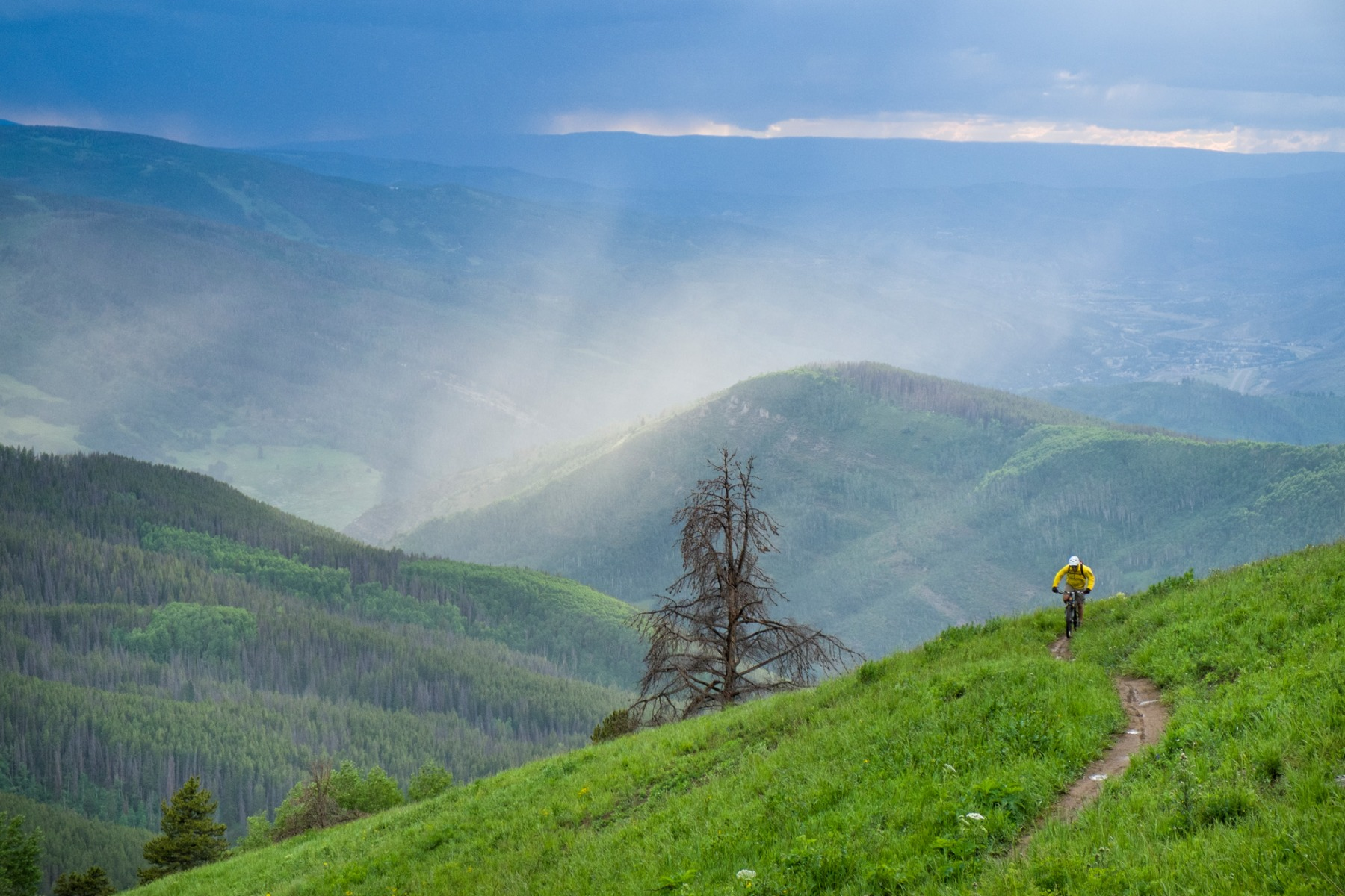 Mountain Biking in Vail Colorado